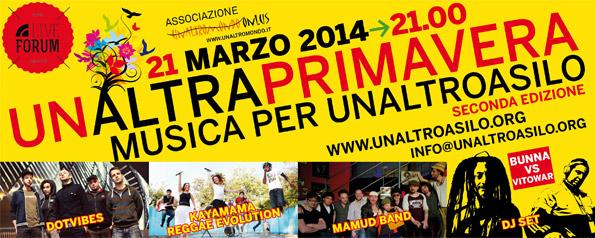 21/3/2014 UnAltraPrimavera: Musica per UnAltroAsilo