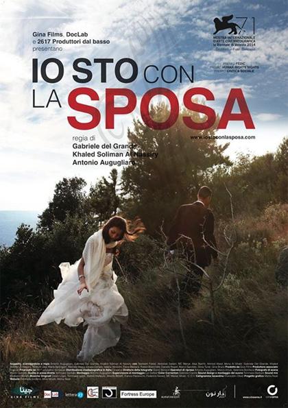 19 GENNAIO: Apertitivo + Proiezione IO STO CON LA SPOSA insieme al regista KHALED SOLIMAN AL NASSIRY