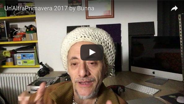 Video inviti per Un'AltraPrimavera 2017