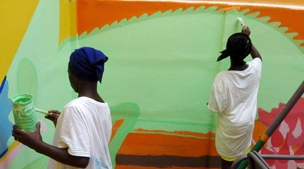 Diamo colore alla scuola: giorno 7