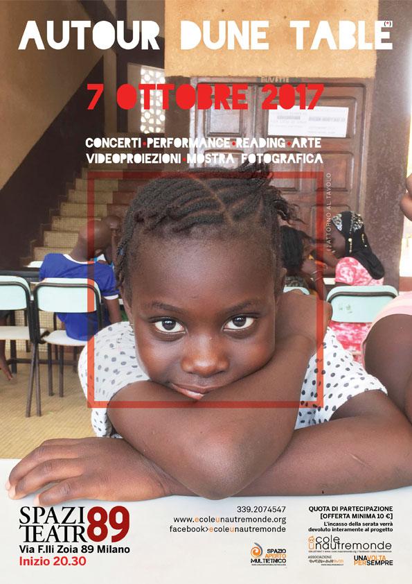 Autour d'une table – il racconto del campo estivo in Senegal 2017