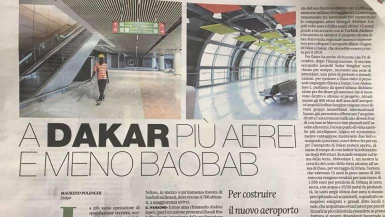A Dakar più aerei e meno baobab