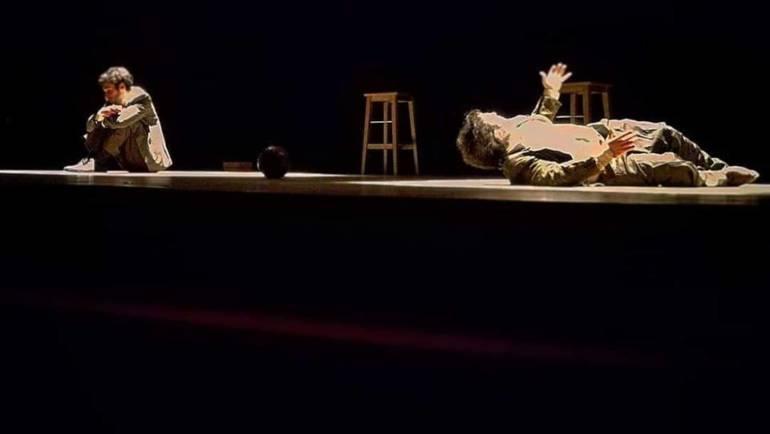 Il Bradipo e la Carpa in scena