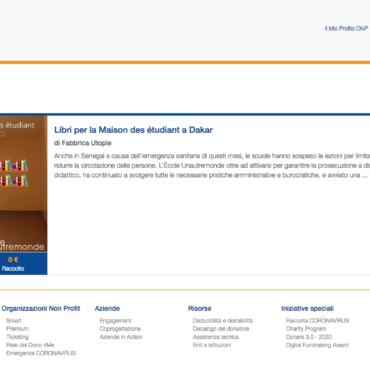 Libri per la Maison des étudiant a Dakar